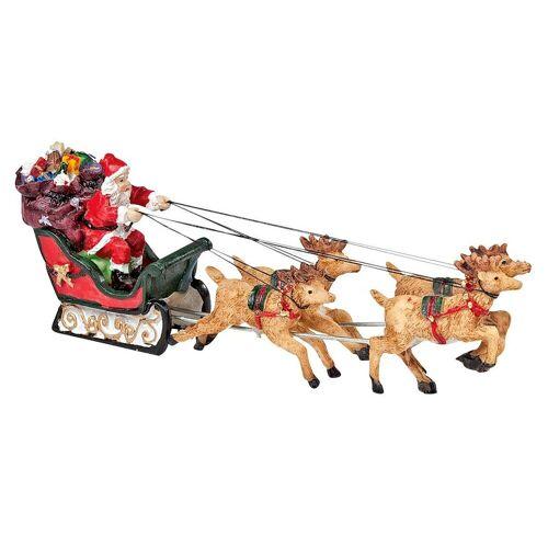 VBS Dekofigur »Weihnachtsmann on Tour«, 16 x 5 cm