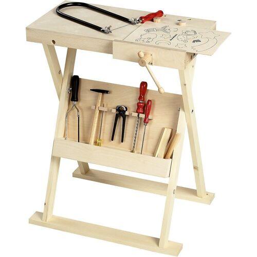 Pebaro Spielwerkzeug »Werkbank klappbar«