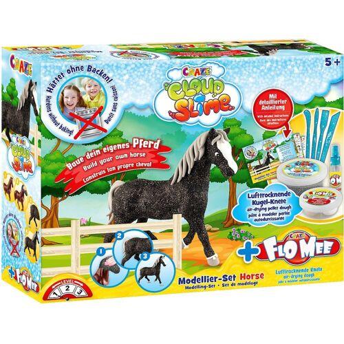 CRAZE Knete »Cloud Slime meets Flo-Mee - Horse Set«