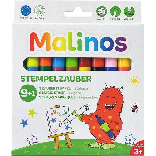 Amewi Stempel »Malinos Stempelzauber 9+1 Mini-Stempel«