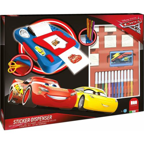 Disney Cars Sticker »CARS 3 Sticker Machine«