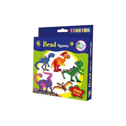 Playbox Bügelperlen »Bügelperlenset Dino, 2.000 Perlen«