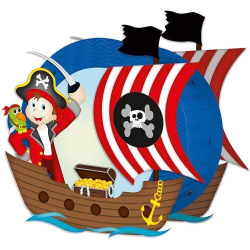 URSUS Laterne »Laternen-Bastelset Pirat«