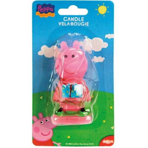 Peppa Pig Formkerze »Kuchenkerze 3D«, rosa
