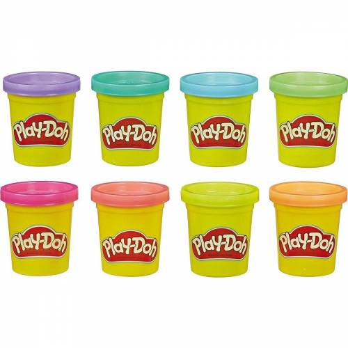 Hasbro Knete »Play-Doh 8-er Pack Knete Neon«