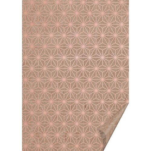 VBS Motivpapier »Naturkarton Starlight«, 70 cm x 50 cm, Kupfer