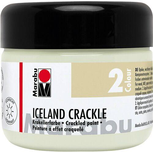 Marabu Malpalette »Iceland Crackle Krakelierfarbe, Mistel 225 ml«
