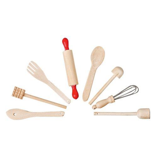 VBS Dekofigur »Küchenutensilien« (8 Stück), 8tlg