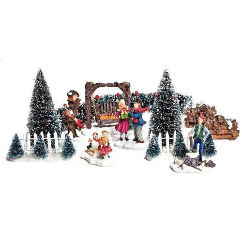 VBS Dekofigur »Deko-Miniaturen Set Winter«, 12 Teile