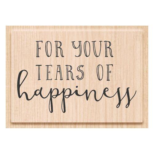 Heyda Stempel »Tears of happiness«, 7,5 cm x 5,6 cm