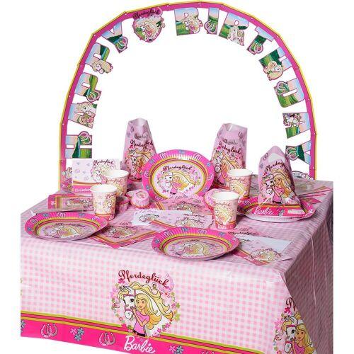 Happy People Kindergeschirr-Set »Partyset Barbie, 96-tlg.«