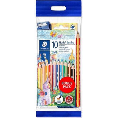 Staedtler Buntstift »Noris Buntstifte, 10 Farben, inkl. Regenbogenstift«