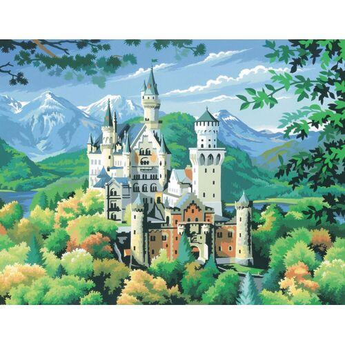 VBS Malen nach Zahlen »Schloss Neuschwanstein«, 29,2 cm x 38,2 cm