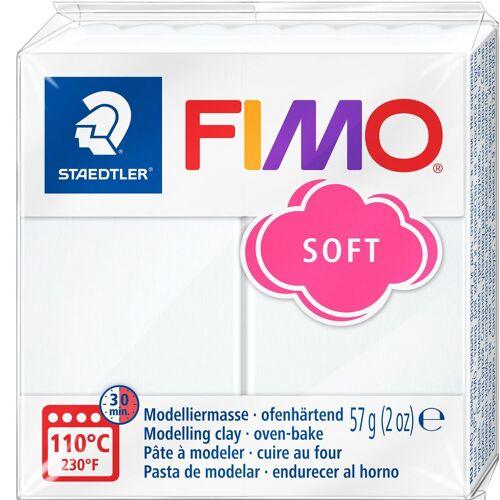 FIMO Modelliermasse, 57 g, Weiß