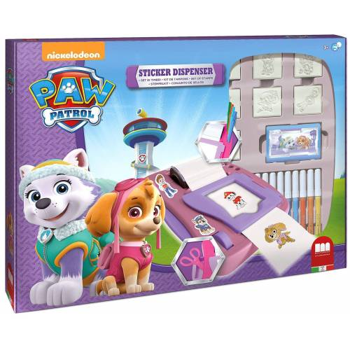 PAW PATROL Sticker »GIRL Sticker Machine«