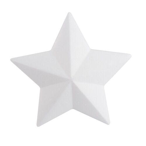 VBS Styropor-Figur »Stern«, 20 cm