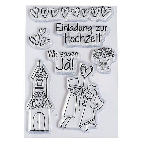 efco Stempel »Hochzeit«, 6 Stück