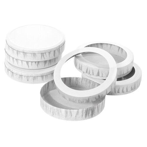 Folia Papierlaterne »Laternenböden und Deckel«, 10 Stück
