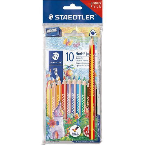 Staedtler Dekorierstift »Noris Buntstifte, 10 Farben, inkl. Regenbogenstift«