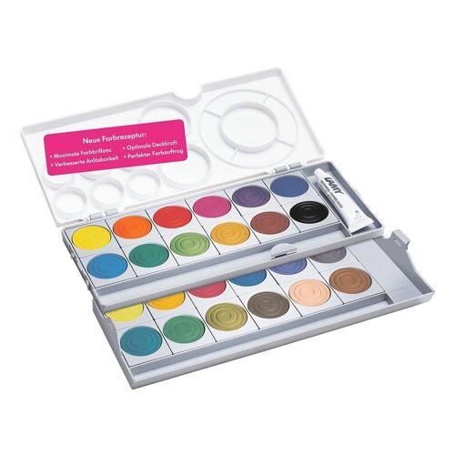 LAMY Malpalette »aquaplus«, 24 Farben + Deckweiß