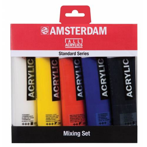 "Acrylfarben-Set ""Mix"" 5 x 120 ml"