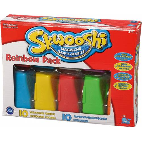 Beluga Knete »Skwooshi Soft-Knete Rainbow Pack«