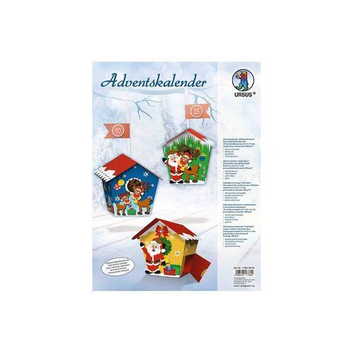 URSUS Wandkalender »Kreativset Adventskalender Weihnachtsmann«