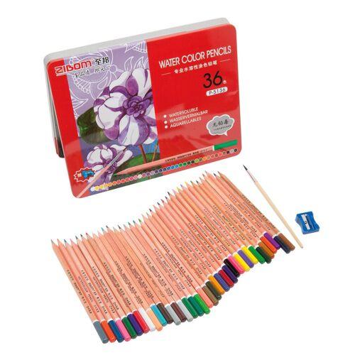 VBS Aquarellstifte »Aquarellstifte Set in Metallbox Water Color Pencil«, 36 Stück