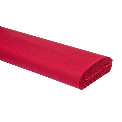 VBS Stoff »Uni«, 147 cm breit, Rot, Meterware