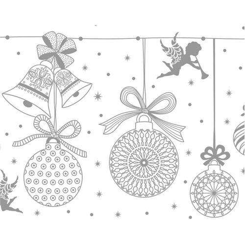URSUS Papierdekoration »Zauberpapier, 10 Blatt DIN A4, Weihnachtskugeln«