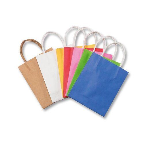 Folia Geschenkpapier »Papiertüten 12 x 15 cm farbig, 10 Stück«