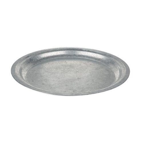 VBS Teller, Ø 30 cm, zinkoptik