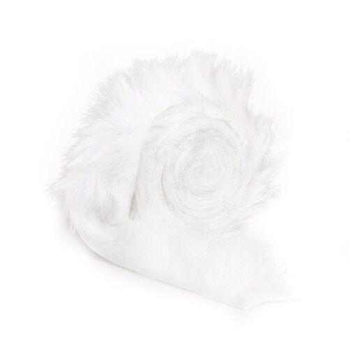 VBS Stoff »Fellband«, 2 m x 4 cm, Weiß