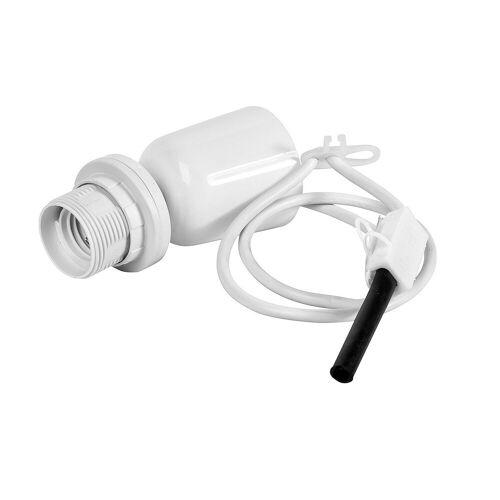 VBS Lampenfassung »Hängefassung Pendelleuchte E27«, weiß mit Deckenanschluss