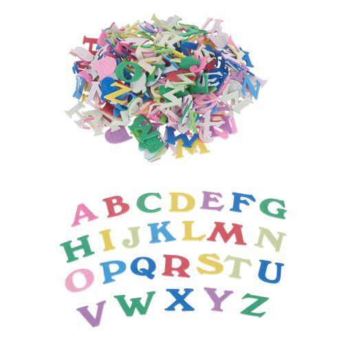 VBS Deko-Buchstaben »Moosgummi Buchstaben«, 200 Stück