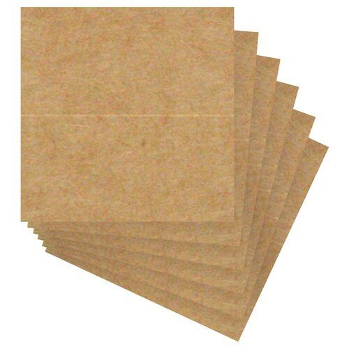 URSUS Kraftpapier »Tischkarten«, 12 Stück