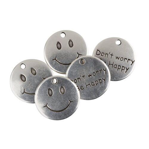 VBS Anhänger Set »Be Happy«, 5 Stück