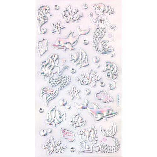 Folia Sticker »Meerjungfrau«, 29 Stück