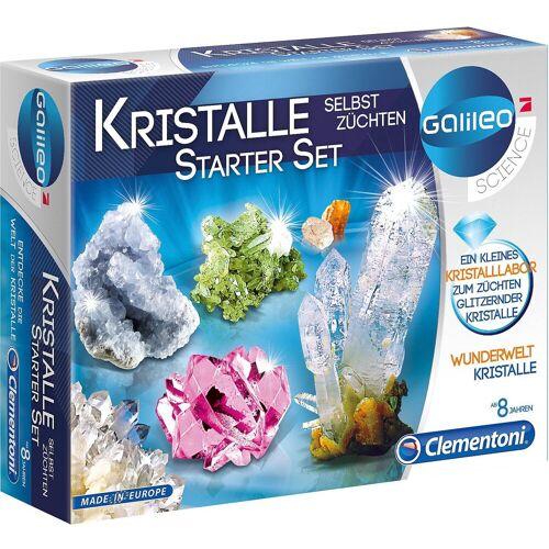 Clementoni® Lernspielzeug »Galileo - Kristalle selbst züchten - Starter-Set«