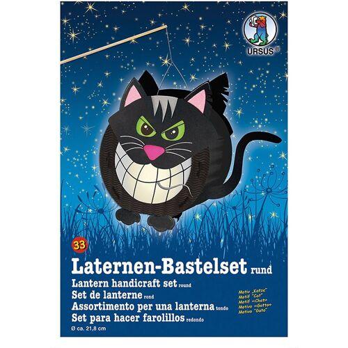 URSUS Laterne »Laternen Bastelset Katze ca. 27,5 x 21cm«