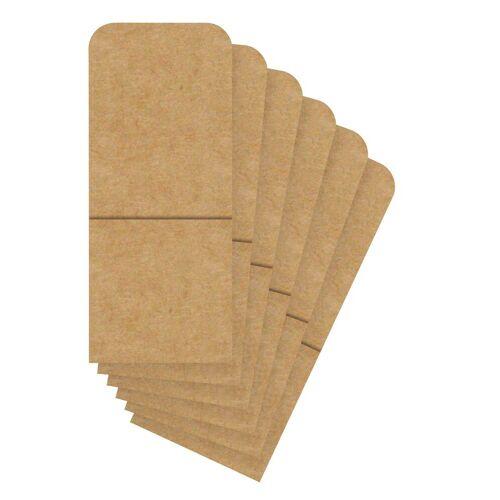 URSUS Kraftpapier »Bestecktaschen«, 6 Stück
