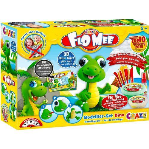 CRAZE Knete »Flo-Mee Modellier Set - Dino«