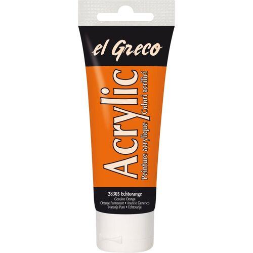 """Kreul Acrylfarbe """"el Greco Acrylic"""" 75 ml, Ultramarinblau"""