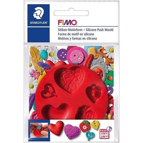 FIMO Knete »Silikon Motivform Herzen«