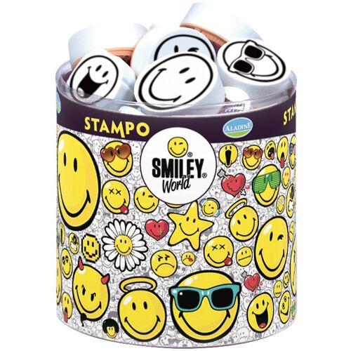 Aladine Stempel »Stempelset Stampo Smiley, 39-tlg.«