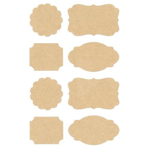 Rico-Design Verlag Sticker »Etiketten«, 32 Stück