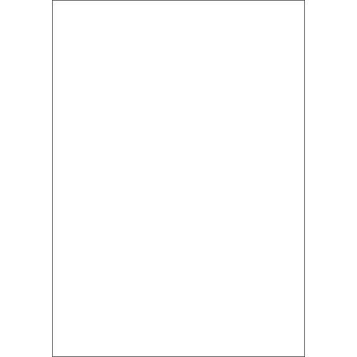 Folia Papierkarton »Tonkarton«, 50 cm x 70 cm, Weiß
