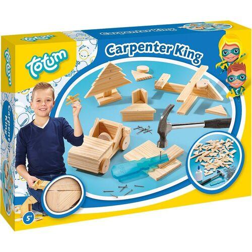 totum Holzbaukasten »Holzbausatz Carpenter King«
