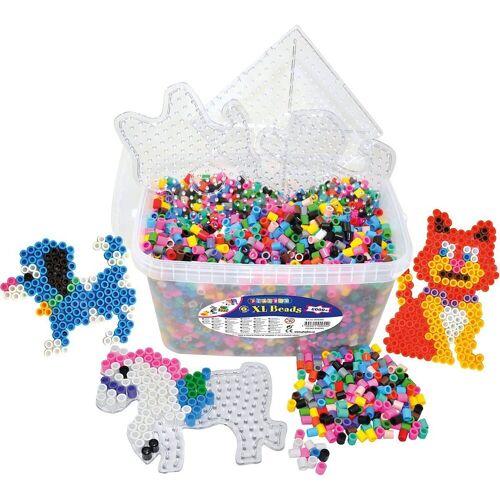 Playbox Bügelperlen »XL-Bügelperlen-Mix in Box, 6.000 Perlen & Zubehör«
