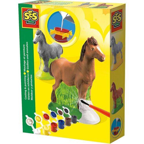 Creative SES Creative Kreativset »Kreativset Gießen und Anmalen - Pferd«